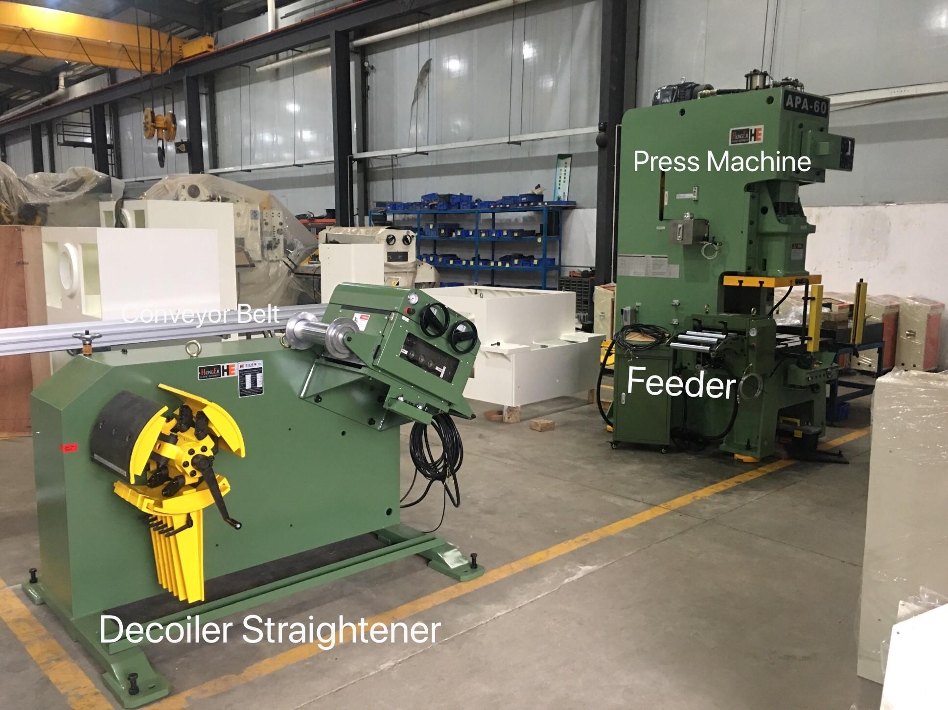 Power Press Machine for car lisence plates, APA-60