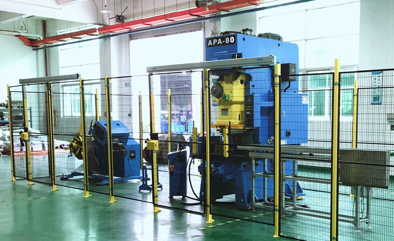Power Press Machine for loud speaker mesh stamping, APA-80