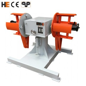 HongEr Dual Mandrel Decoiler / Uncoiler DBMT-150