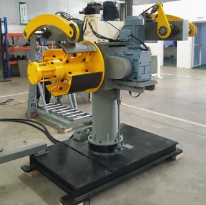 HongEr Dual Mandrel Decoiler / Uncoiler DBMT-400