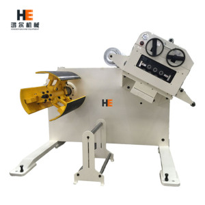 High Precise 2in1 Automatic Metal Strip Uncoiler Cum Straightener Machine