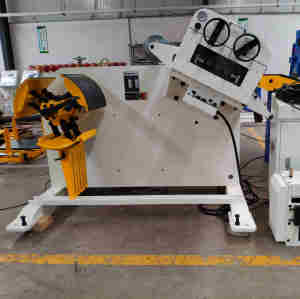 HongEr Metal Sheet Straightener with Decoiler (GL-400)