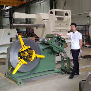 HongEr Metal Sheet Straightener with Decoiler (GL-500)