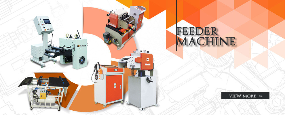 press feeder for thin and soft metal material