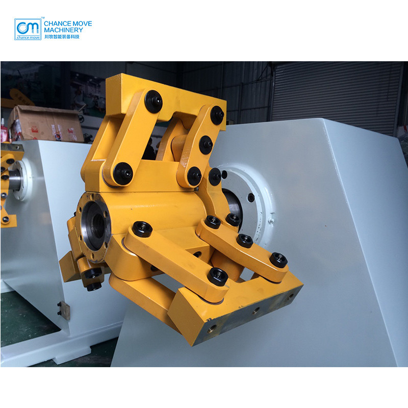 MT Motorized decoiler with  manual expansion