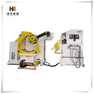 3 in 1 Compact Feeder levelling Machine with decoiler