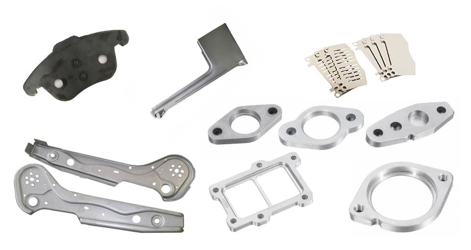 Decoiler Straightener Feeder Power Press Machines for Brake pads manufacturing