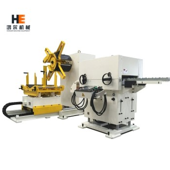 GLK2 Decoiler Straightener Feeder Machine for Steel Sheet Metal Coil Handling