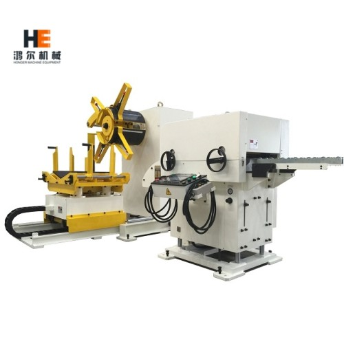 GLK2 Decoiler Straightener Feeder Machine for Steel Sheet Metal Coil Handling