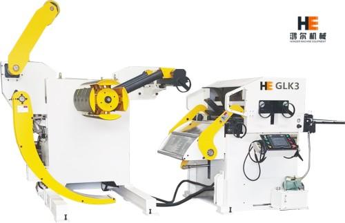 GLK3 Uncoiler Straightener Feeder Machine for Metal Fabrication