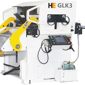 GLK3 Uncoiler Straightener Feeder Machine for Metal Fabrication