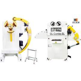 GL-H uncoiler straightener for metal strip feeding line