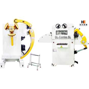 GL-H uncoiler straightener for metal strip feeding line