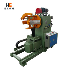 MT uncoiler machine with coil car for press