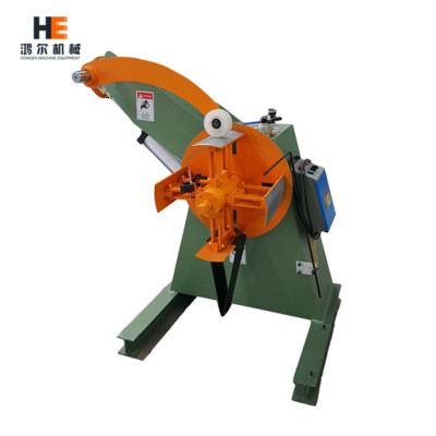 MT Uncoiler machine with pressing arm