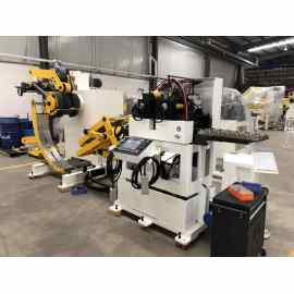 Automatic Feeder Machine Decoiling Direction From Bottom To Up