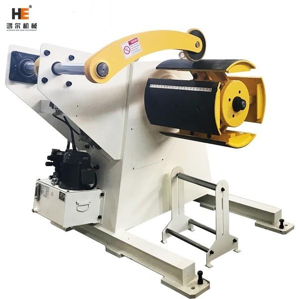 MT-500F unwinder for metal coil handling