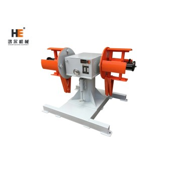 DBMT double head uncoiler for high speed press