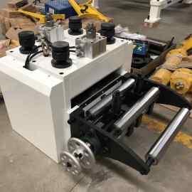 Details of NC Servo Feeder Machine: Yaskawa Servo Motor, Mitsubishi PLC