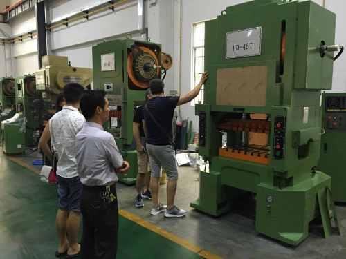 H Type High Speed Press Machine For Metal Stamping