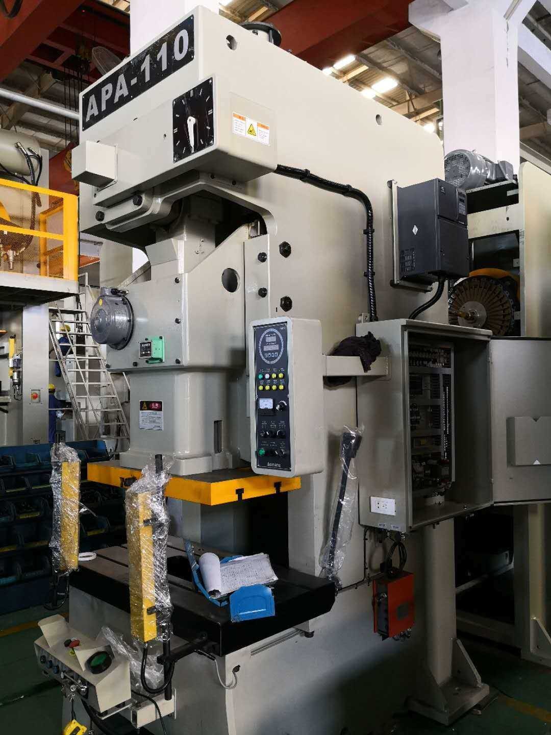 press machine for metal strips