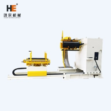 decoiler machine for metal stamping