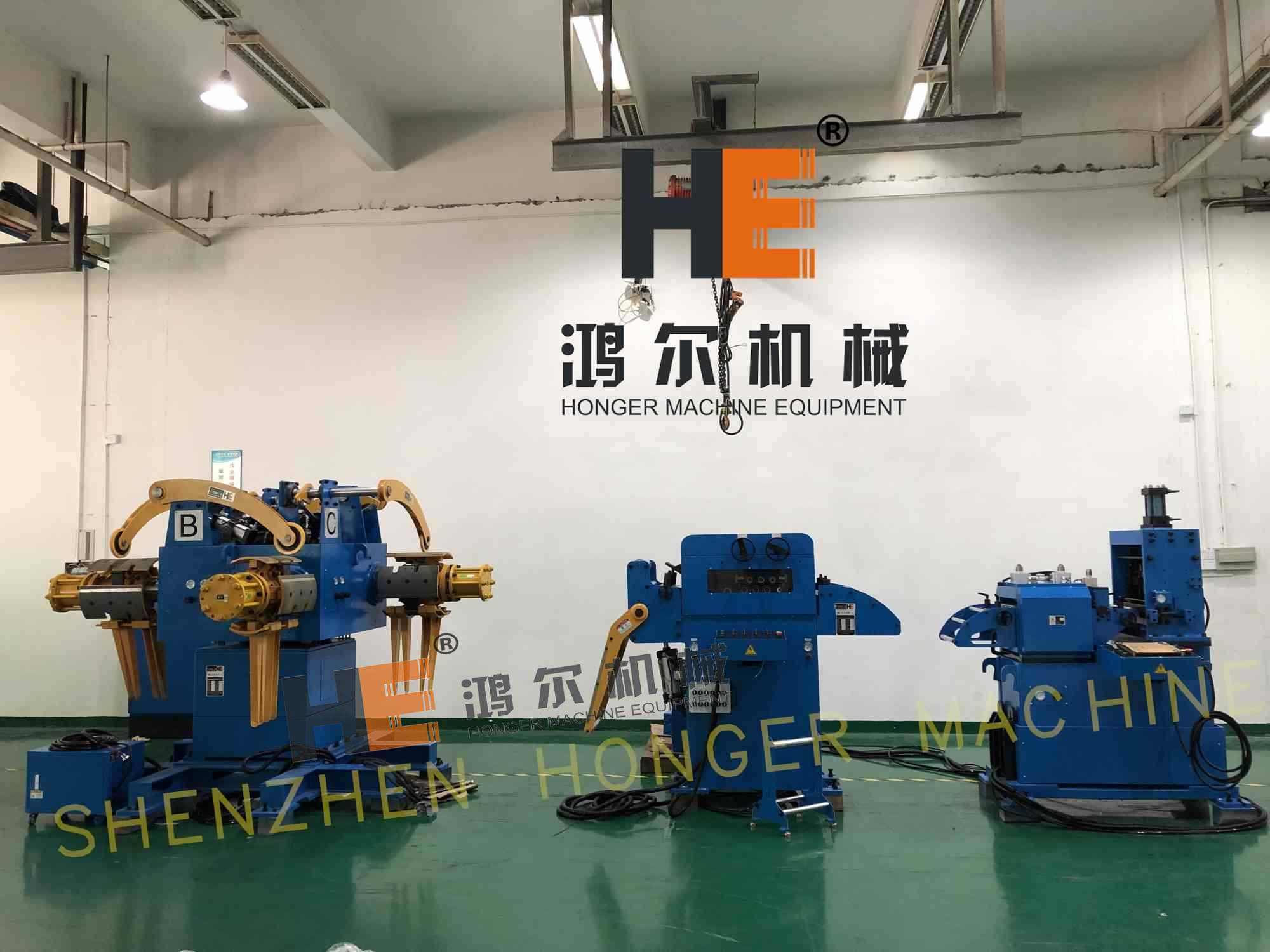 3 in 1 coil feeder machine for automatic stamping line