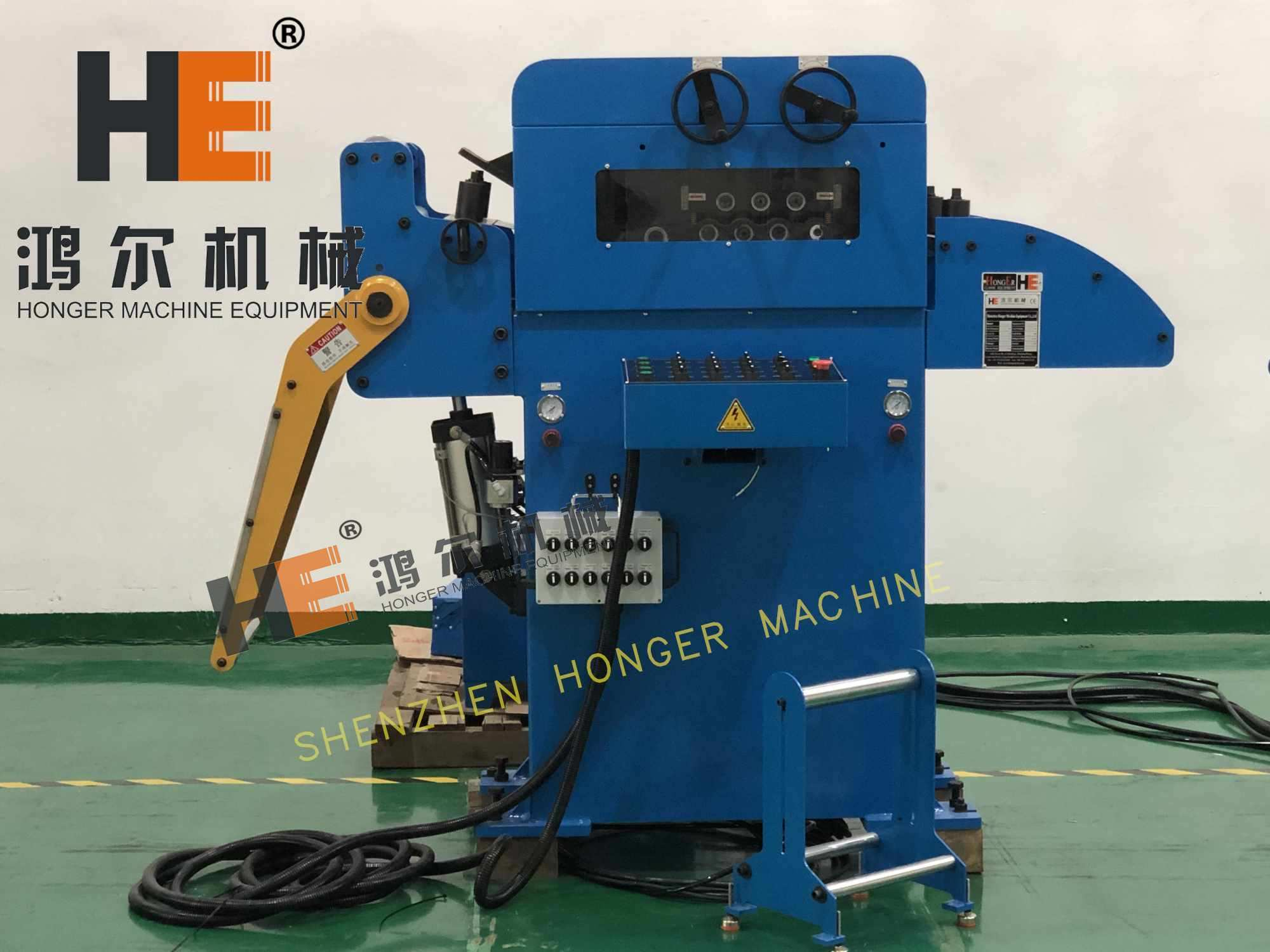 straightener machine for metal stamping