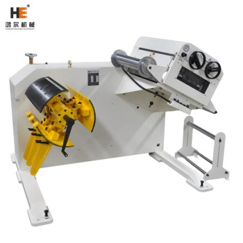 GL-200 2 in 1 uncoiler straightener machine for metal coils