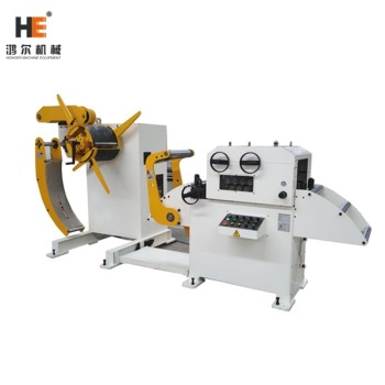 GL-400H 2 in 1 Uncoiler And Straightener Equipped With Coil Feeder For Metal Stamping