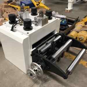 RNC-300H Automatic Servo Coil Feeder Compacted Press Machine