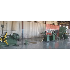 Servo Coil Feeder Compacted With Mechanical Press Machine For Punching In Africa