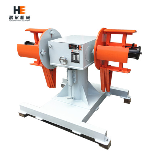 DBMT metal sheet double head decoiler for high speed stamping