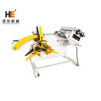 GL-300F Hydraulic Expansion Uncoiler Straightener For Automation Punching In Press Room