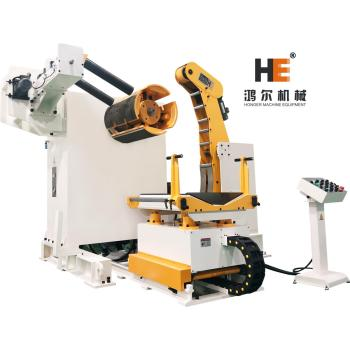 MT-600F decoiler for metal coil handling