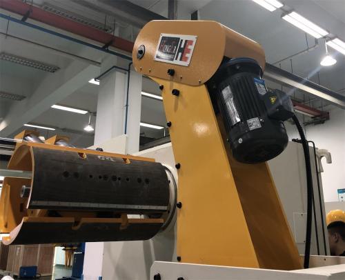 MT-600F decoiler for metal coil handling