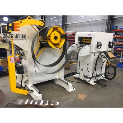 GLK2-400 Unit Feeder Machine To Handle With 400mm Width Coil Strip For Metal Parts Manufactures