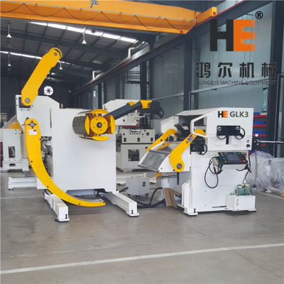 GLK3-800 Compacted Servo Feeder For Metal Coil Sheet Handling in Steel Stamping Line
