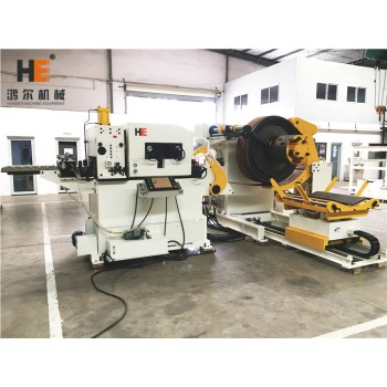 GLK4-1000 3 In 1 Compact Coil Feeder Machine For Punch Press With Automation Feeding Function
