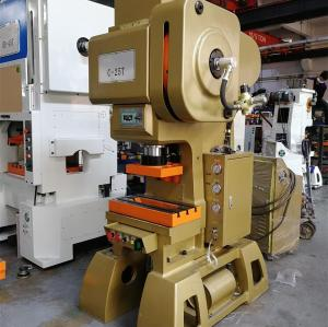 C45 Ton C Type High Speed Press Machine For Metal Stamping
