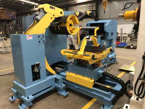 Customized Servo Coil Feeder With Decoiler Straightener Feeder Combo For Automation Feeding