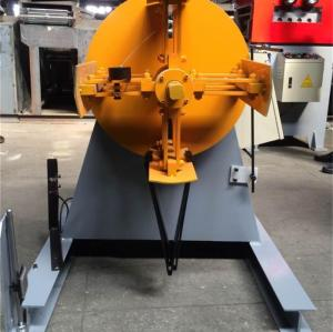 MT-400 Uncoiler machine for stamping line