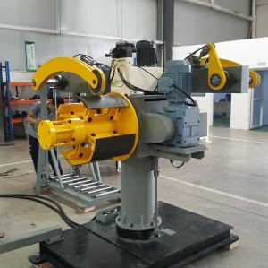DBMT-300 Double Head Decoiler For High Speed Stamping Line
