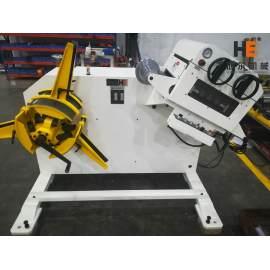 GL-300 Combo Decoiler Straightener Machine Testing For Poland Customer