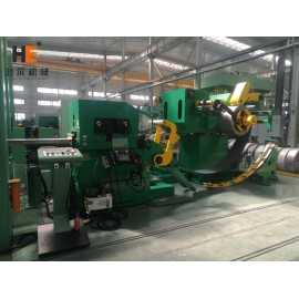 GLK-400D Double Head Coil Feeder 3 In 1 Machine For Automobile Stamping Manufacturer