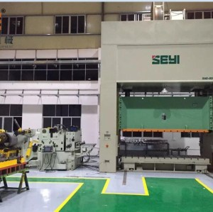 GLK4-800H High Strength Servo Coil Feeder For Thicker Metal Coil Sheet Feeding Line In Press Room
