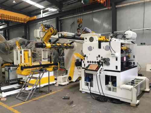 GLK4-600H Automatic Coil Feeding System Compact Mechanical Press Machine For Punching