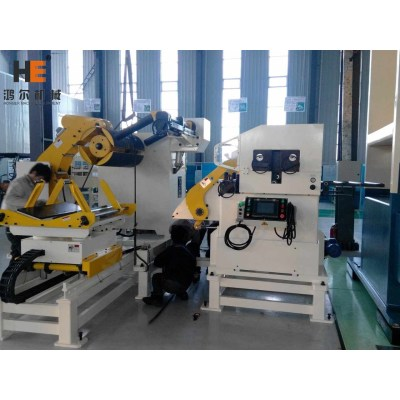 GLK4 Automation Feeding System In Press Room For Brake Pads Bracket Auto Parts Punching