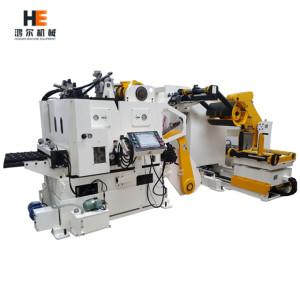 GLK-H Decoiler Straightener Feeder 3 in 1 Machine