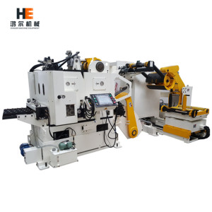 GLK-H Decoiler Straightener Feeder 3 in 1 Machine